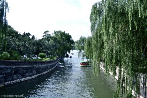 Passeio de barco no Beihai Park