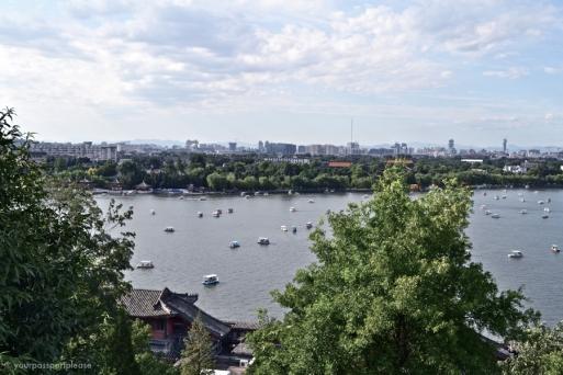 Vista do Beihai Park